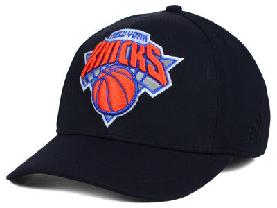 New York Knicks adidas NBA Black Run and Gun Cap