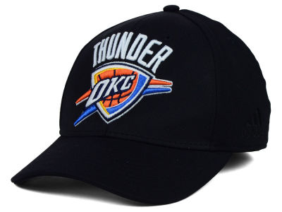 Oklahoma City Thunder adidas NBA Black Run and Gun Cap
