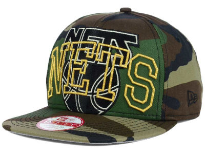 New Jersey Nets New Era NBA HWC Metallic Cue Original Fit 9FIFTY Snapback Cap