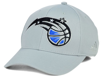 Orlando Magic adidas NBA Gray Run and Gun Flex Cap