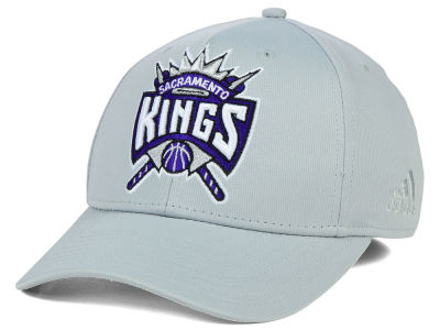 Sacramento Kings adidas NBA Gray Run and Gun Flex Cap