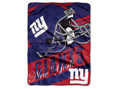 New York Giants Micro Raschel 46x60 Deep Slant