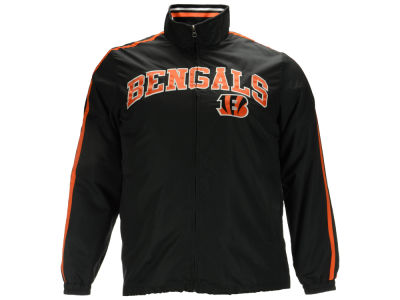 Cincinnati Bengals GIII NFL Men's Mock Full Zip Jacket