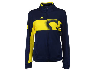 Michigan Wolverines adidas NCAA Women's Full Zip Jacket