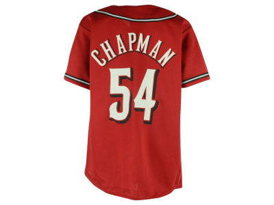 "Cincinnati Reds Aroldis Chapman MLB Youth Alternate Replica ""Los Rojos"" Jersey"
