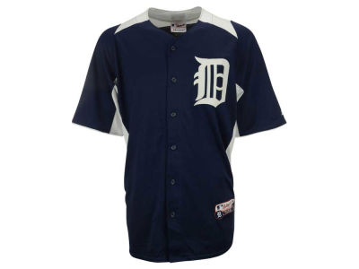 Detroit Tigers Justin Verlander MLB Men's Cool Base Batting Practice Jersey