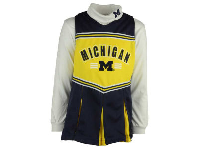 Michigan Wolverines adidas NCAA Cheerleader Adidas Outfit