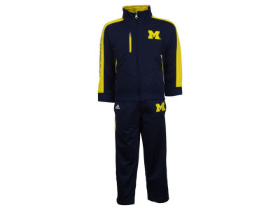 Michigan Wolverines adidas NCAA 2pc Track Outfit