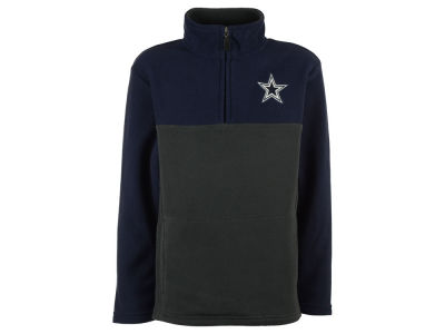 Dallas Cowboys NFL Youth Resolve Quarter Zip Pullover