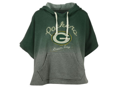 Green Bay Packers NFL Women's Pullover Poncho Hoodie