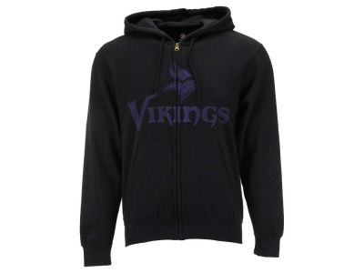 Minnesota Vikings NFL Full Zip Touchback Hoodie