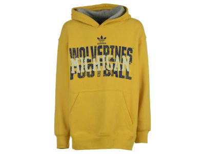 Michigan Wolverines adidas NCAA Youth Vintage Hoodie