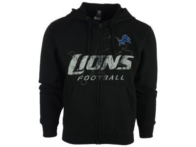 Detroit Lions NFL Men's Touchback Full Zip Hoodie