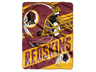 Washington Redskins Micro Raschel 46x60 Deep Slant