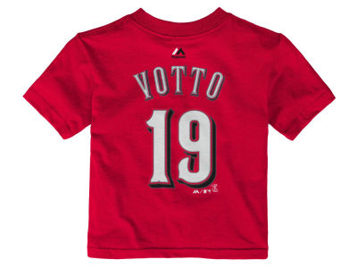 Cincinnati Reds Joey Votto MLB Toddler Official Player T-Shirt
