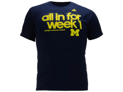 Michigan Wolverines adidas NCAA All In T-Shirt