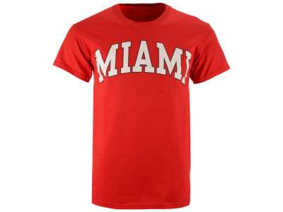 Miami (Ohio) Redhawks NCAA 2 for $25  NCAA Men's Bold Arch T-Shirt