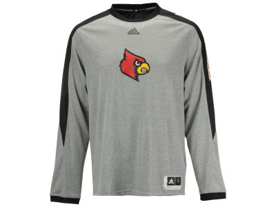 Louisville Cardinals adidas NCAA Men's Basketball Shooter Long Sleeve T-Shirt