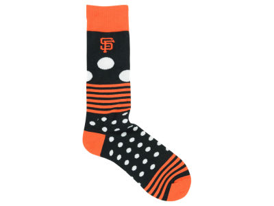 San Francisco Giants Dots and Stripes Sock