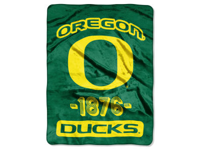 Oregon Ducks Micro Raschel 46x60 Varsity