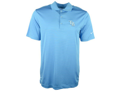 Tampa Bay Rays Nike MLB Men's Victory Stripe Polo Shirt