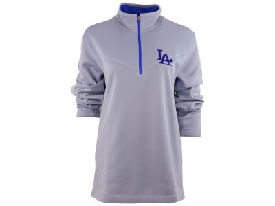 Los Angeles Dodgers Nike Golf MLB Men's Hypervis Half Zip Shirt