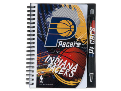 Indiana Pacers 5x7 Spiral Notebook And Pen Set