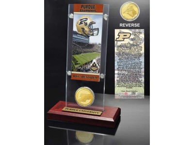 Purdue Boilermakers Ticket and Coin Acrylic