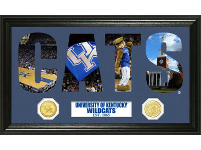 Kentucky Wildcats Bronze Coin Photo Word Art