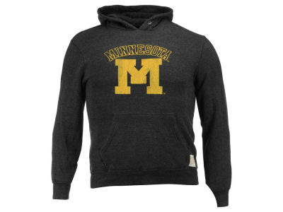 Minnesota Golden Gophers Retro Brand NCAA Triblend Hoodie