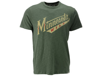 Minnesota Wild '47 NHL Wordmark Scrum T-Shirt