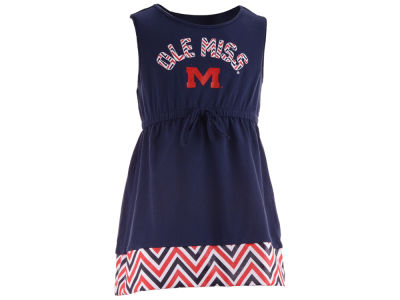 Ole Miss Rebels NCAA Toddler Chevron Dress