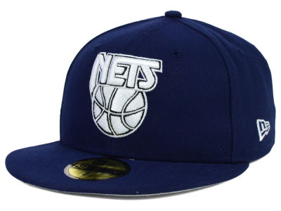 New Jersey Nets New Era NBA HWC Back To Basic 59FIFTY Cap
