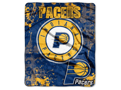 Indiana Pacers 50x60in Plush Throw Drop Down