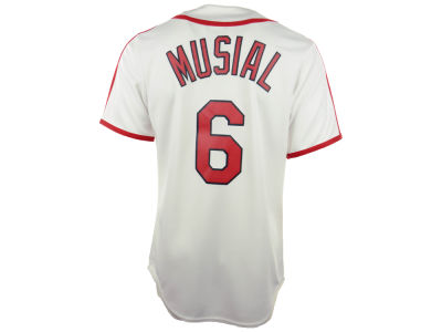 St. Louis Cardinals Stan Musial MLB Men's Cooperstown Fan Replica Jersey