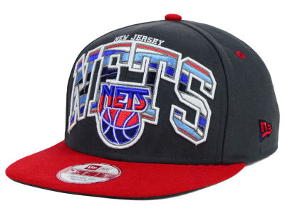 New Jersey Nets New Era NBA HWC Out of Line 9FIFTY Snapback Cap