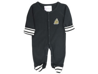 University of Central Florida Knights NCAA Newborn Footed Stripe Creeper