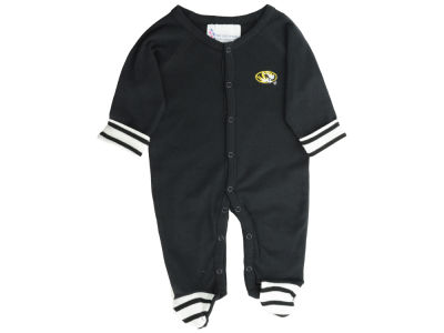 Missouri Tigers NCAA Newborn Footed Stripe Creeper