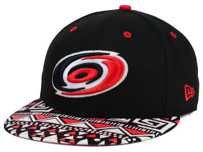 Carolina Hurricanes New Era NHL Cross Colors 9FIFTY Snapback Cap