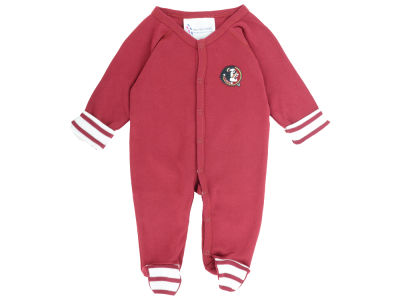 South Carolina Gamecocks NCAA Newborn Footed Stripe Creeper