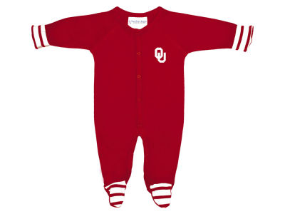 Oklahoma Sooners NCAA Infant Striped Footed Creeper