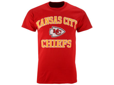 Kansas City Chiefs NFL Heart and Soul T-Shirt