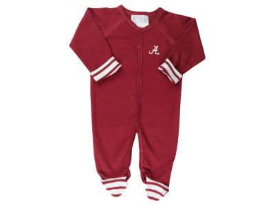 Alabama Crimson Tide NCAA Infant Striped Footed Creeper