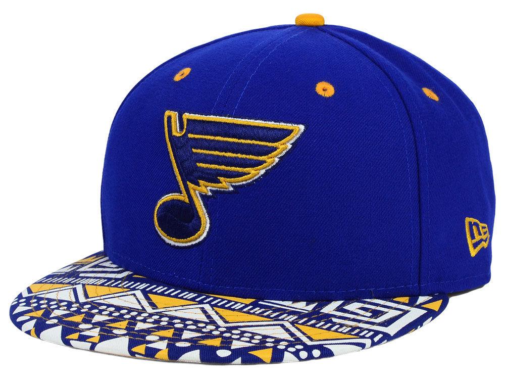 13f777c43b5 St. Louis Blues New Era NHL Cross Colors 9FIFTY Snapback Cap