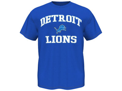 Detroit Lions NFL Heart and Soul T-Shirt