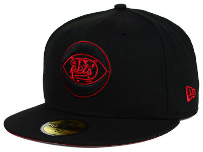 New York Nets New Era NBA HWC Black on Color 59FIFTY Cap