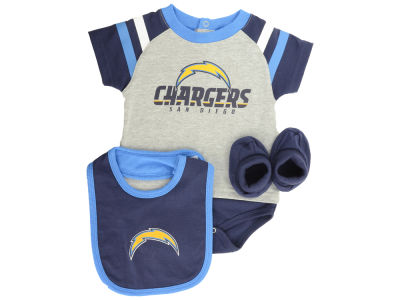 San Diego Chargers NFL Newborn Little Player Creeper Set