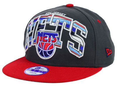 New Jersey Nets New Era NBA HWC Youth Out of Line 9FIFTY Snapback Cap