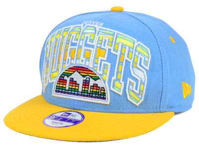 Denver Nuggets New Era NBA HWC Youth Out of Line 9FIFTY Snapback Cap