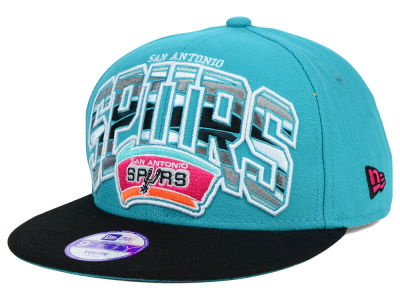 San Antonio Spurs New Era NBA HWC Youth Out of Line 9FIFTY Snapback Cap